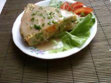 Tort ziemniaczany z mięsem i warzywami