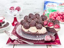 Torta de brigadeiro e sorvete