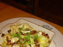 Tortellini w sosie serowym