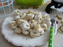 Tortellini w sosie śmietanowo-serowym