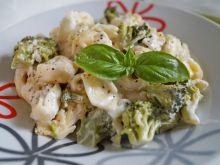 Tortellini z brokułami i mascarpone