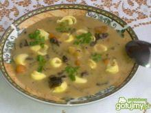 Tortellini z grzybowym sosem