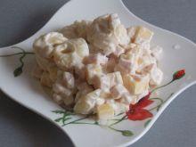 Tortellini z szynką i serem żółtym