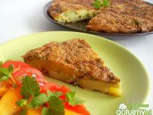 Tortilla de patatas z bluszczykiem