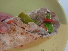 Tortilla pełnoziarnista z wkładką