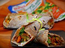 Tortilla pszenno-żytnia z warzywami i kurczakiem