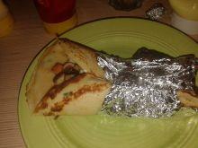 Tortilla w szczypiorkowym cieście