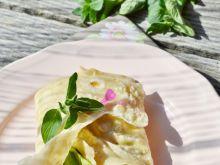 Tortilla z białym serem i warzywami