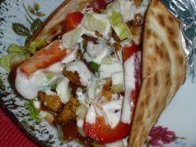 Tortilla z gyrosem