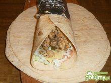 Tortilla z kurczakiem  4