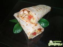 Tortilla z kurczakiem 7