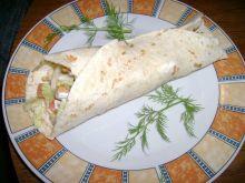 Tortilla z kurczakiem Aguni