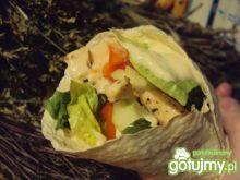 Tortilla ze świeżymi warzywami