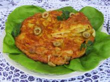 Tortilla ziemniaczana z oliwkami