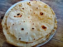 Tortille pszenne - placki