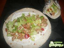 Tortille z kurczakiem i warzywami 2