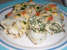 Tortille ze szpinakiem