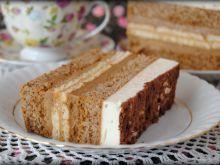 Tortowe ciasto z herbatnikami