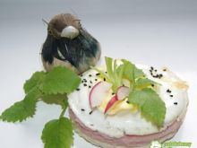 Tost z szynką i jajkiem