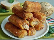 Tostowe krokiety z selerem i szynką