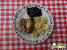 Tradycyjne roladki z mięsa