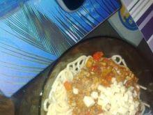 Tradycyjne Spaghetti Bolognese -Makaron