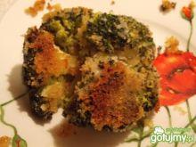Tradycyjny smażony brokuł