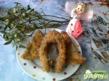 Tradycyjny wigilijny karp smażony