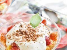 Trifle z truskawkami po włosku
