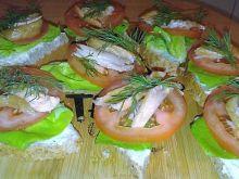 Trójkątne kanapeczki