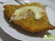 Trójkatne krokiety z serem