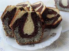 Trójkolorowe ciasto