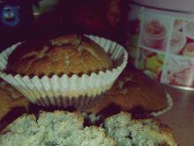 Trójkolorowe muffiny