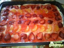 trójsmakowe ciasto Mariel