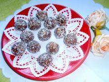 Trufelki z płatków owsianych z kokosem