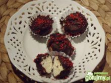 Trufle w gorzkiej czekoladzie