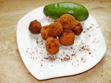 Trufle z awokado i pomarańczą