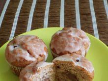 Truskawkowe muffiny z kremem czekoladowym