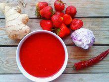Truskawkowy sos chilli