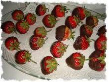 Truskwaki w czekoladzie