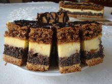 Trzy-smakowe ciasto popisowe