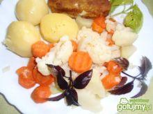 Trzy warzywa  na obiad