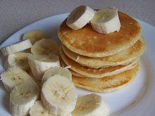 Twarogowe placuszki z bananem