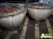 Twarogowy deser z czekoladą