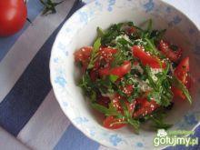 Twarożek z warzywami i poppingiem
