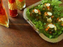 Tymbaliki z przepiórczym jajkiem i szparagami