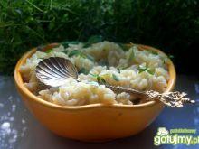 Tymiankowy ryż na bulionie
