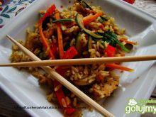 U chińczyka - ryż z woka