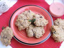 Ucierane ciasteczka z musli i nutką cynamonu