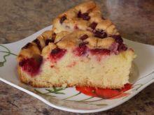 Ucierane wieloowocowe ciasto